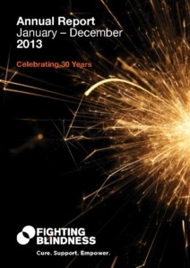 Front cover annual report 2013