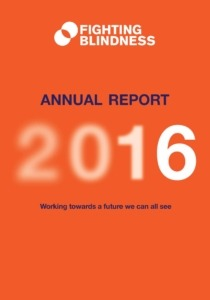 Front cover annual report 2016