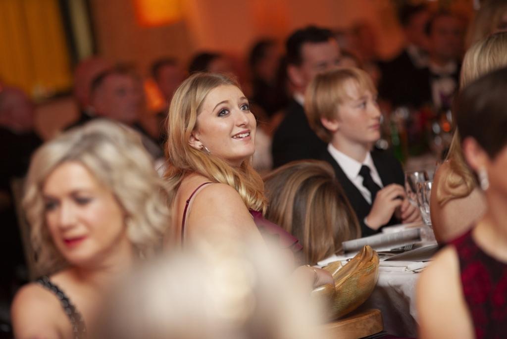 Evie Baxter smiling