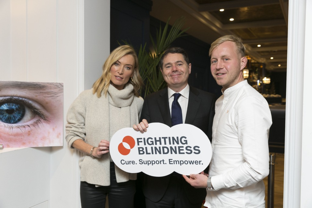 Victoria Smurfit, Paschal Donohoe TD and Cllr Peter Ryan pose together