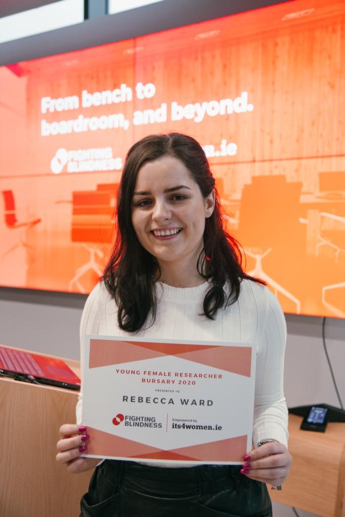 Rebecca Ward, Bursary winner and UCD researcher
