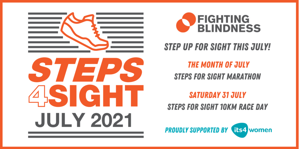 Promotional graphic for Steps 4 Sight